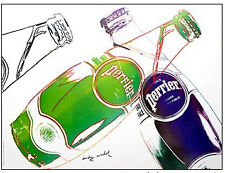 Andy Warhol, Perrier, originale 1983