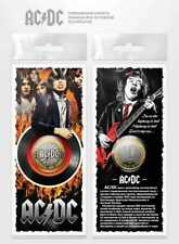 Russia 10 Rubles 2016 UNC Uncirculated Coin - ACDC AC/DC  Angus Young