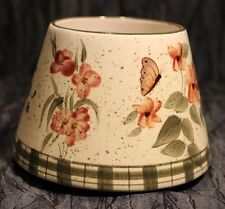 Home Interiors Lamp Shade Candle Top.