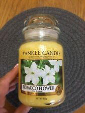 Yankee Candle Tobacco Flower Large Jar - New