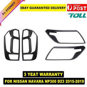 Headlight Taillight Light Lamp Cover for Nissan Navara NP300 D23 2015-20 AU