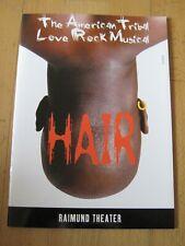 Programmheft / Picturebook+Cast Musical HAIR in Wien 2001 Drew SARICH Eric MINSK