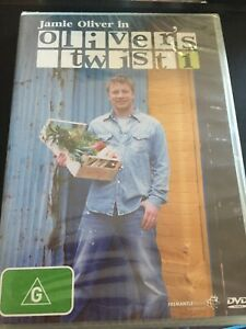 JAMIE OLIVER - IN OLIVER'S TWIST 1 - 2 DISC DVD - NEW/SEALED - *FREE STD POST*