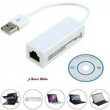 USB 2.0 to Ethernet RJ45 Internet LAN 10/100Mbps Network Converter Adapter Cable