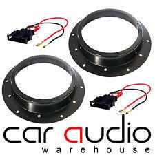 """Volkswagen Transporter VW T5 T5.1 03-15 Front Speaker Adaptors Cables 6.5"""" 17CM"""