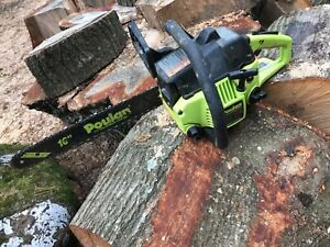 """Poulan chainsaw 2150 16"""" B/C Running Condition, As Is 2.1 CID Super Clean"""