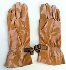 Size 10 *NEW* - Genuine British Military Leather Tactical Gloves in Desert DPM