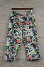 Westbound Woman Park Ave Fit Animal Floral Capri Leggings Women's Plus Size 3X