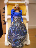Barbie BLUE RHAPSODY 1986 Porcelain   NRFB