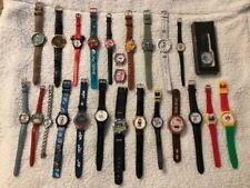 Lot of 25 Cartoon Watches (Looney Tunes, Disney, Etc...)