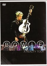 DVD . DAVID BOWIE - A reality Tour (NEU! 30 live Songs Heroes Life on Mars mkmbh