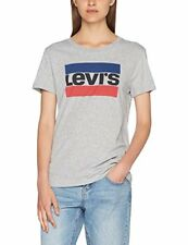 Levi's the camiseta para mujer gris (sportswear logo Tee Smokestack...