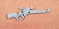 Rock & Roll v2~ Gray Rifle Gun~  Gi Joe Parts~ Vintage 1989  Hasbro~