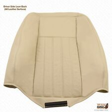 2003 2004 Lincoln Navigator Driver Lean Back Leather Seat Cover Color Tan