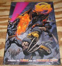 Hardback X-men/Fantastic Four pristine mint 10.0