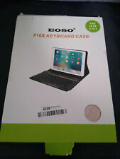 EOSO F16S Removable PU Leather Keyboard Case for iPad 2/3/4 Black