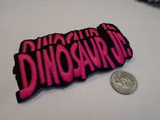 Dinosaur Jr Pink Fuzzy Logo J Mascis IRON ON EMBROIDERED PATCH NEW