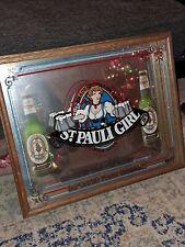 St.pauli Girl Beer Framed 3D Mirror