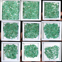 100% Natural Zambian Emerald Pear Cut Wholesale Gemstones Lot -Sizes available