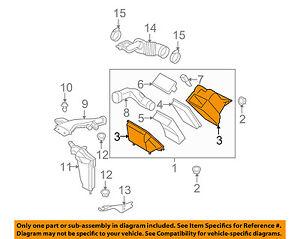 NISSAN OEM 07-12 Versa Air Cleaner Box-Bottom Lower Housing Body 16528EL00A