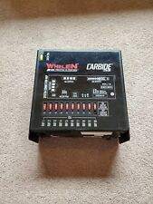 Whelen Cencom Carbide Box Only Good Working Order