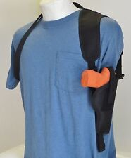 """Shoulder Holster for Sig Sauer P250 COMPACT with 3.9"""" Barrel VERTICAL CARRY"""