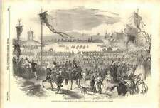1852 Grand Military Festival Paris Review In The Champ De Mars