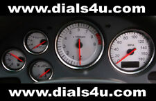 MAZDA RX7 (1979-2002) 180mph / 110mph IMPORT CONVERSION - WHITE DIAL KIT
