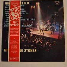 ROLLING STONES - Gimme shelter - 1971 JAPAN LP