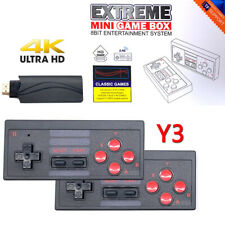 Retro Game Console 628 Classic Games Video Game System 4K HDMI + 2 Controller