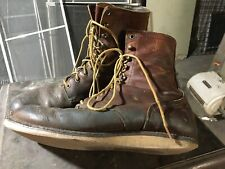 "Rare Red Wing x J.Crew 7"" Round Toe Boots. 4572. Size 10.5 D. Well Worn"