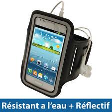Noir Brassard Réfléchissante pour Samsung Galaxy S3 III Mini I8190 Smartphone