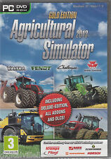 Agricultural Simulator 2013 Gold with Deluxe edition and all addon dlcs