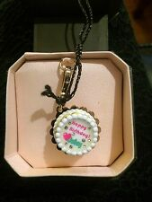 Juicy Couture Charm - NIB Happy Birthday Cake