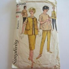 Simplicity Cut Mixed Lot Sewing Patterns