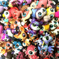 "Random 15PCS Lot Littlest Pet Shop Animals Hasbro 2.0"" Figure Baby Girl Toy Doll"