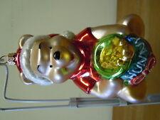 Christopher Radko Disney's Winnie The Pooh 6.5-Inch Christmas Ornament