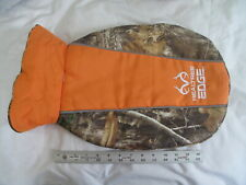 Realtree Edge Dog Jacket Camo Reflective Adjustable to Fit Fleece Lining