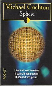 Sphère de Michael Crichton - Pocket (Ed 1998)