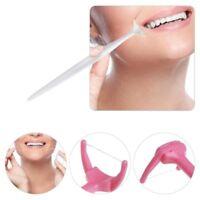 20 stücke Zahnseide Hygiene sauber Mund Zahnstocher Griff Halter Einweg Gut