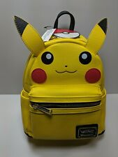 Loungefly x Pokemon Pikachu Faux Leather Mini Backpack |Backpack  Please read