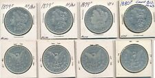 4 FOUR MORGAN DOLLAR LOT #36 90% SILVER US COIN polished