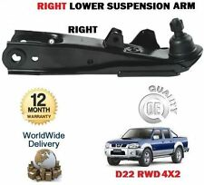 FOR NISSAN NP300 + D22 PICKUP 2.5TD  1998-->NEW RIGHT SIDE LOWER SUSPENSION ARMS
