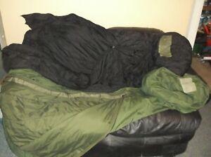 Military Patrol Sleeping and intermediate cold bag compression storage sack  OD
