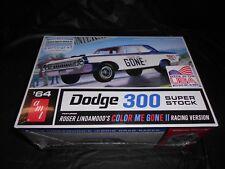 AMT 987 1/25 1964 DODGE 300 SUPER STOCKER COLOR ME GONE II PLASTIC MODEL KIT