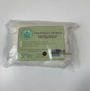 American Baby Company Knit Fitted Portable/Mini-Crib Sheet Natural Color