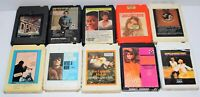Lot of 10 Various Vintage 8-Track Tapes Some Rare As Shown In Pictures - Lot # 1
