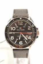 Tommy Hilfiger 1791131 Declan Black Dial Black Leather Men's Watch
