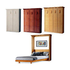 Murphy Vertical Wall Bed Woodworking Plans, Twin, Full, Queen and King 1Avwb