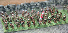 15mm 48 x Painted Russian Napoleonic Line Infantry in forage cap and greatcoat